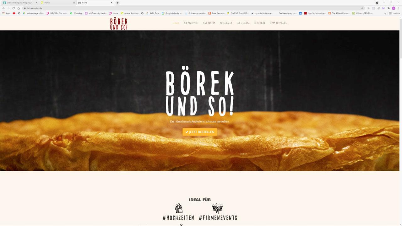 Webdesign Börekundso!